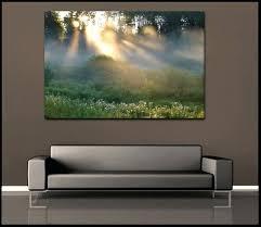 nature wall art canvas