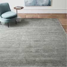grid shine jute blend rug west elm