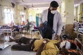 Hindistan'da Delhi siyah mantarı epidemi ilan etti