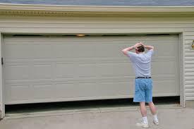 help my garage door doesn t open properly
