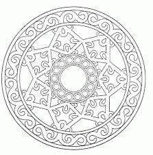 Free Printable Mandalas Coloring Pages Adults Timeless Miraclecom