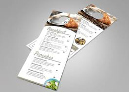 Door Hanger Design Template Impressive Top 44 Free Paid Door Hanger Templates