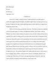 candide essay docx elliott harrington period mr robinson  candide essay docx elliott harrington period 6 mr robinson 5 2017 candide essay in the novel candide written by voltaire candide and his