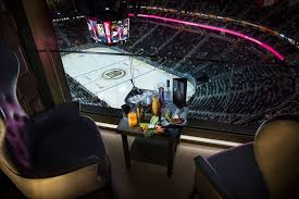 Knight Life Hockey From T Mobile Arenas Hyde Lounge Is An