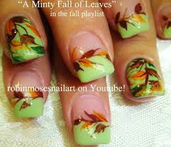 nail designs for fall 2014. nail art tutorials - fall tutorial designs \u0026 thanksgiving nails for 2014 3