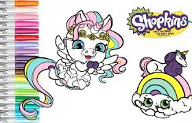 Shopkins Coloring Pages Free Coloring Pages Shopkins Unicorn