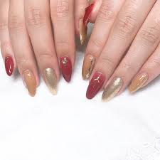 秋冬ハンドラメワンカラー Nail Salon Daisyのネイルデザインno