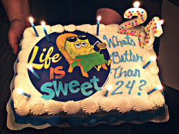 Spongebob Birthday Cake Whats Better Than 24 Yummy Foods In