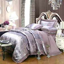 glitter bedding set glitter silver and taupe gray vintage flower pattern rustic style classic lace design glitter bedding