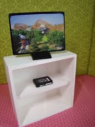 barbie furniture diy. barbie furniture accessories flat screen television w dvd player diy