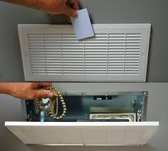 built in wall safe this secret vent stash safe requires an security card to open it built in wall safe
