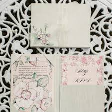 2016 trends big floral wedding invites are back momental Handmade Wedding Invitations With Flowers pin it flower wedding invite wedding trends Unique Butterfly Wedding Invitations