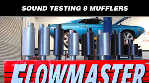 Flowmaster Loudness Chart Sound Testing Flowmasters 8 Hottest Mufflers