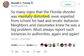 florida massacre survivors demand gun america averages about one school shooting each week report says