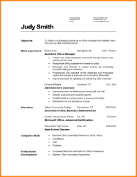 Manager Resume Objective Office Manager Resume Objective 24 Offecial Letter Project Assistant 17