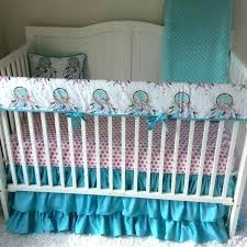 boho baby bedding crib bedding baby girl crib bedding set pink and aqua baby bedding boho boho baby bedding crib