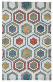 rizzy home lancaster ls9575 multi colored geometric area rug contemporary hall and stair runners by incredible rugs and decor