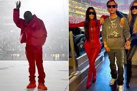 Kanye West and Kim Kardashian match ...