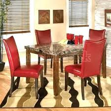 modern red dining chairs contemporary red leather parsons dining chair red leather dining room chairs red