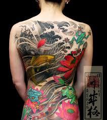 Tradiční Japonské Tetování Kultura Asianstylecz