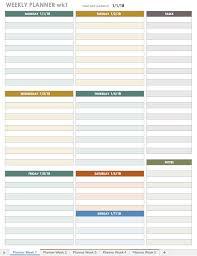 Downloadable Daily Planner Awesome Free Excel Calendar Templates