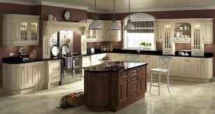 Granite With Cream Cabinets Kitchen Cabinets Compact Cream Colored Kitchen Cabinets Cream