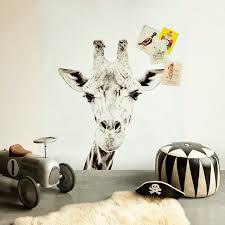 Superb Print Van Een Giraf Op De Muur, Magnetische Wand U003d Giraffe Printed Magnetic  Wallpaper On The Wall I Pin From Www.
