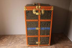Steamer Trunk Furniture Large Vintage Wardrobe Steamer Trunk From Goyard For Sale At Pamono