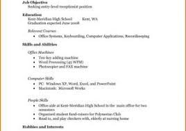Simple Resume Sample Or Resume Sample For Fresh Graduate Nurse ...