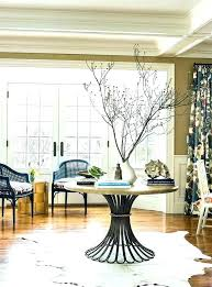 round foyer table ideas gorgeous entry modern entryway g