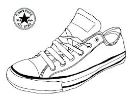 shoe coloring book shoes pages packed with colorways sneaker converse page p boo