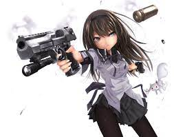 anime with guns