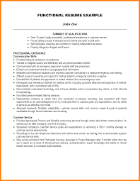 9 Highlights Of Qualifications Resume Type
