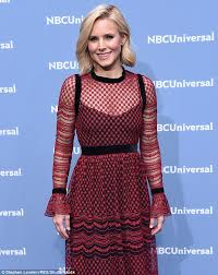 kristen bell discusses depression in college in motto essay  mental health kristen bell shown in in new york city discussed her