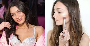 we tried the exact victoria s secret fashion show makeup how to breakdown and it really does make you look angelic as