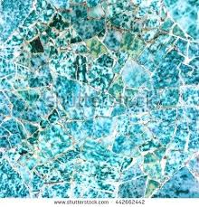 broken glass mosaic tile decoration in park designed by pieces