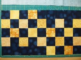 How To Use Quilt Fuse Grid | Quilts By Jen & Yellow squares added to the grid Adamdwight.com