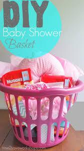 diy baby shower gift basket on a shoestring kasey trenum baby shower