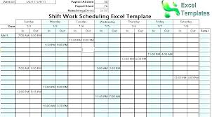 Hours Sheet Template Excel Work Hours Template