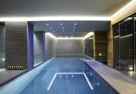 basement pool house. Basement Indoor Pool Design By Guncast House H