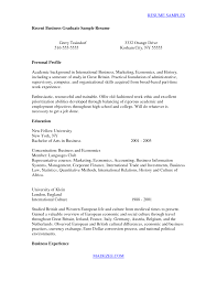Cover Letter For College Grads Cover Letter