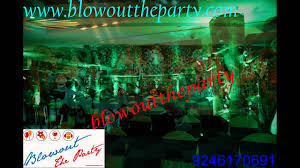 Jungle Theme Decorations Jungle Theme Birthday Party Decorations Organizers In Hyderabad