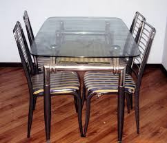 rectangle glass table top picture