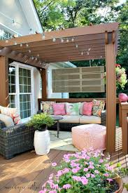 worn deck into a beautiful outdoor room
