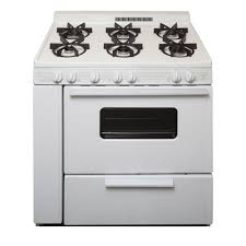 gas stove clipart black and white. gas range in white-wfg505m0bw - the home depot stove clipart black and white