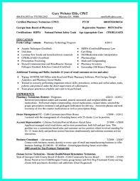 Pharmacy Tech Sample Resume Resume Pharmacy Tech Krida 22