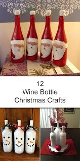 Glass Bottle Decoration For Christmas