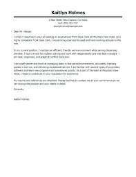 cover letter for hotel front desk medical front desk resume collection of solutions resume cover letter