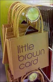 little brown bag lives on as card bloomingdale brown bags brown and bags