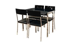 black dining table and chairs black folding dining table and chairs set dining table